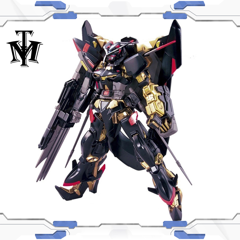 Japan Mobile suit Seed 1/144 Gundam Astray Gold Frame Amatsu Customizable model kids assembled Robot Anime action figure toys 1