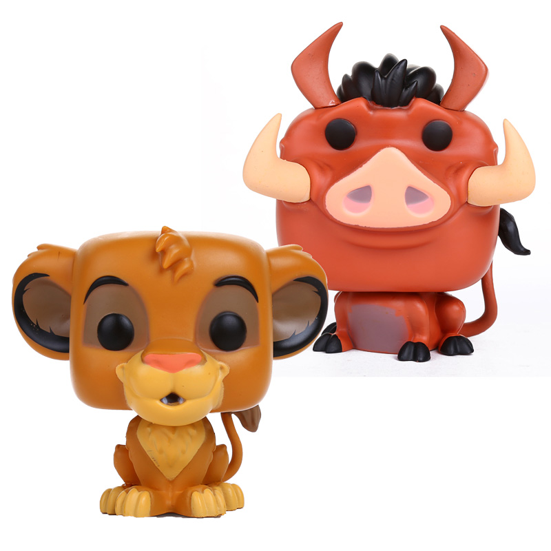 FUNKO POP The Lion King Simba PUMBAA PVC Action Figure Collectible Model Toy 4