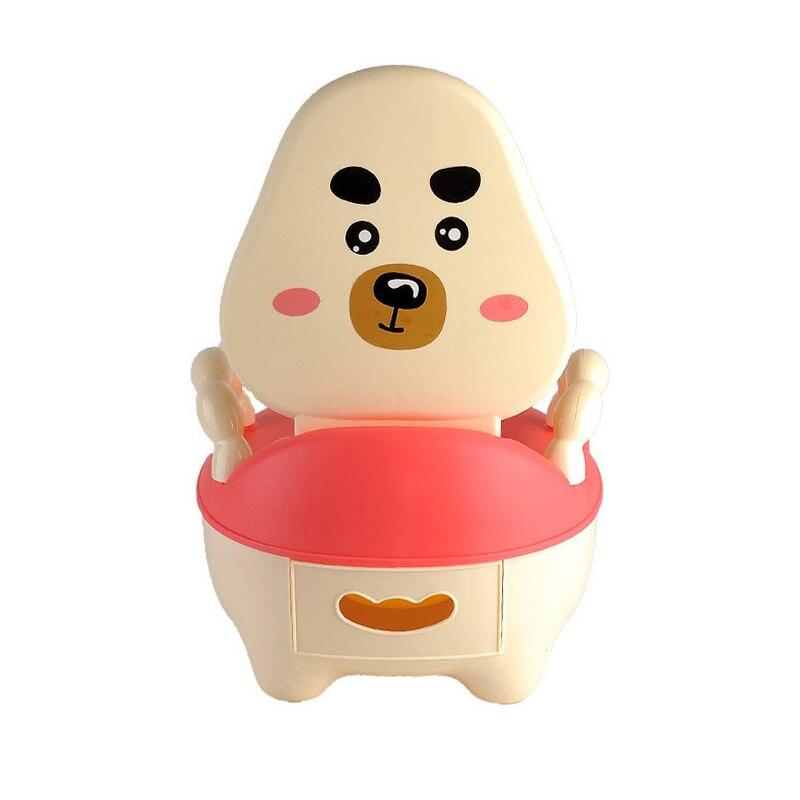 ФОТО New Design Cute Cartoon Baby's Training Potties Kids' Chair Shape Urinal Toilet Drawer Style Portable Safety Children's Potties