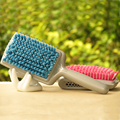 2 Color Newest Magic Quick Drying Comb Micro Fiber Dry Hair Brush B0711 For Woman Long Hair, Popular Hair Wepping Brush