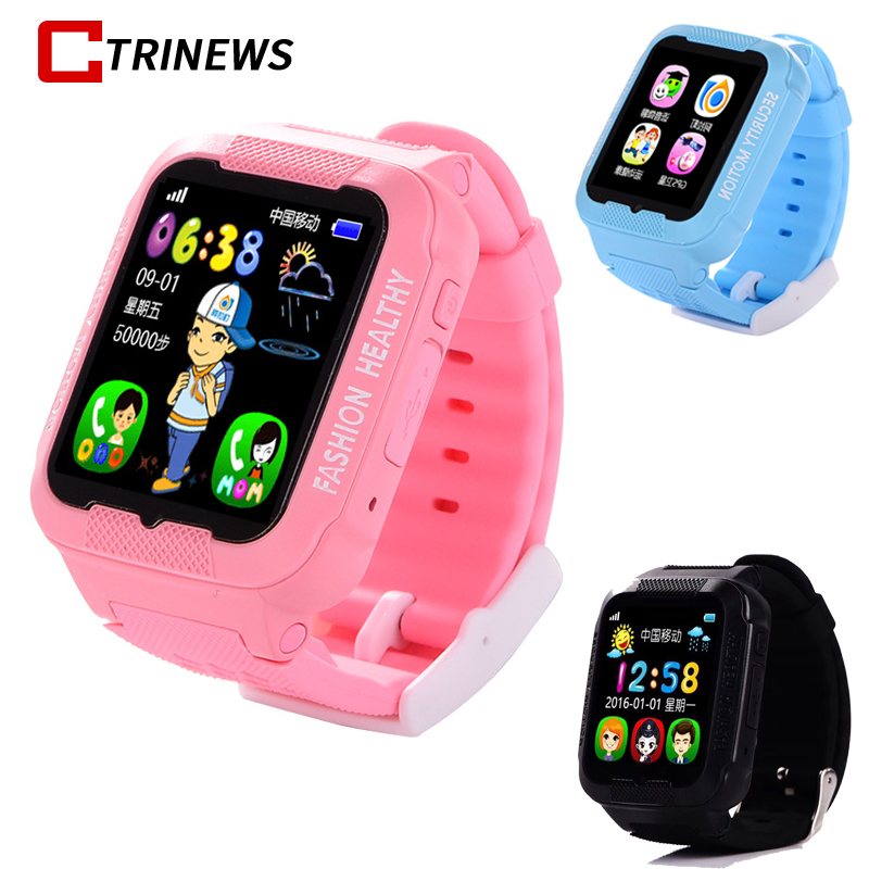 K3 Kids Smart Watch Baby Children Kids Security Safety GPS Location Finder Tracker Waterproof Bluetooth Watch For iOS Android