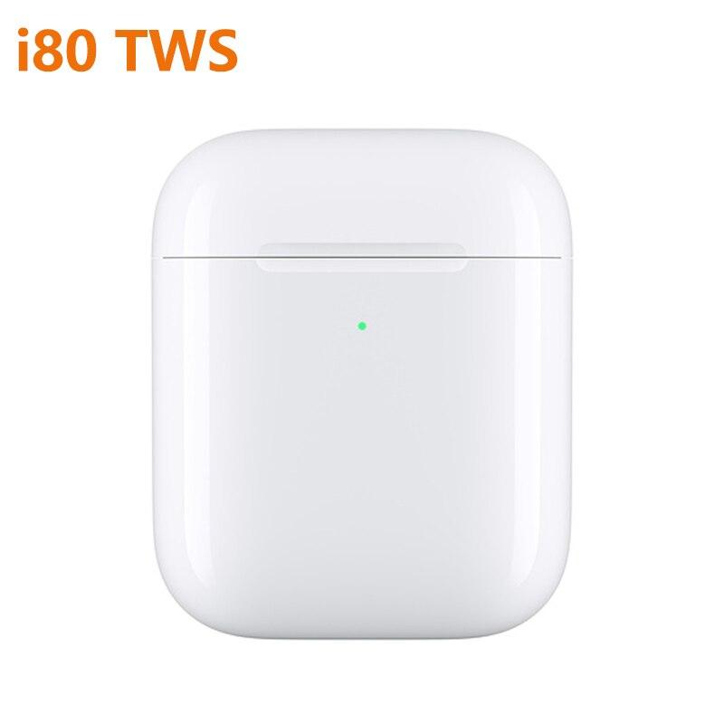 I80 Tws Bluetooth écouteurs Pop Up Windows écouteurs casque sans fil pour iPhone écouteur 2 génération PK i100 tws i200 tws