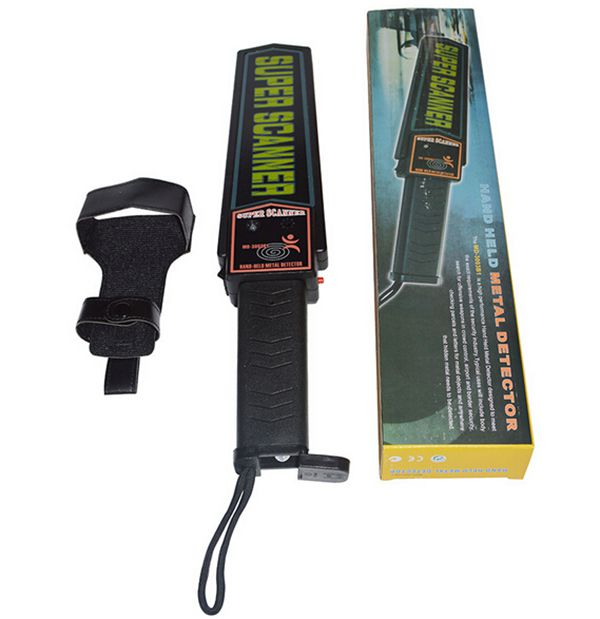 Handheld Metal Detector Portable Super High Sensitivity Scanner body Search Tool Finder For Security Checking