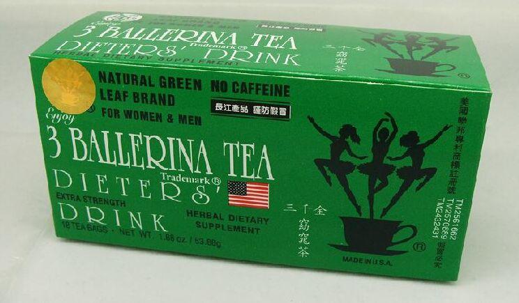 3 ballerina tea chinese weight loss health tea slimming
