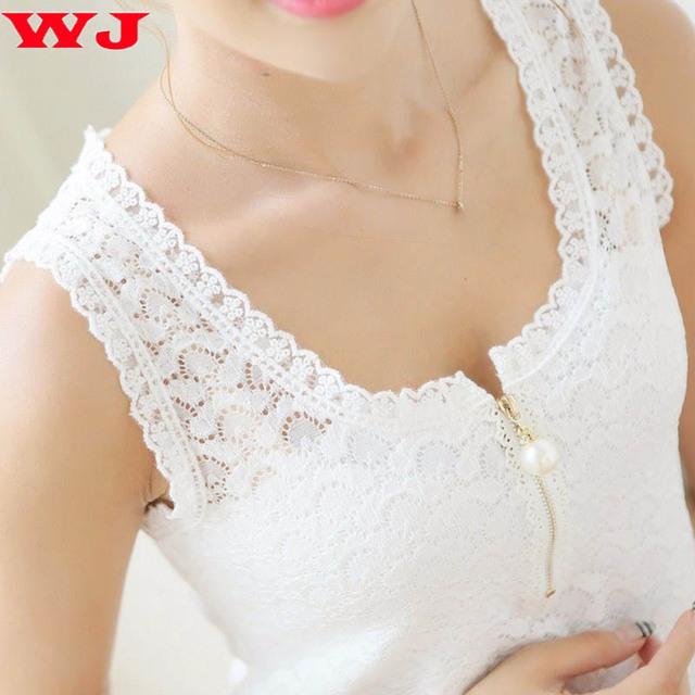 Blouse Shirt Women Black/White Blouses O-Neck Sexy Lace Floral Fashion Ladies Blusas Tops Shirt Clothing