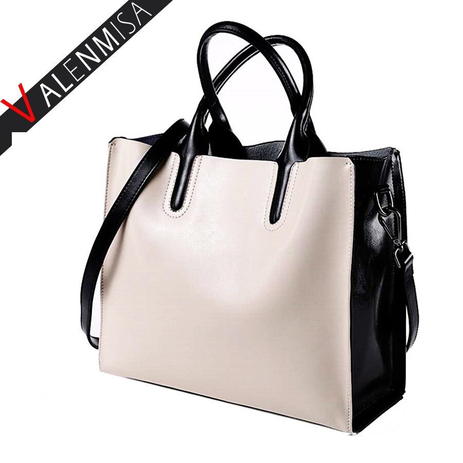 100% Genuine Leather Bags Women'S Bucket Luxury Handbags Women Bags Designer Women Messenger Bag High Quality Tote Shoulder Bag