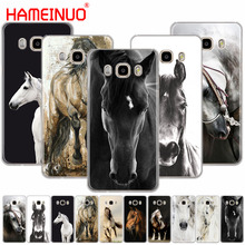 HAMEINUO тонкая лошадь художественный чехол для телефона для samsung Galaxy J1 J2 J3 J5 J7 MINI ACE prime