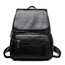 Fashion Women Backpack High Quality PU Leather Backpacks for Teenage Girls Female School Shoulder Bags Bagpack Bookbag mochila недорого