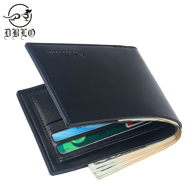 DBLO Brand Men Wallet PU Leather Fashion Short Wallet For Man Stone Pattern Design Men Purse Stylish Male Wallets Money Holder lorways 016 stylish check pattern long style pu leather men s wallet blue coffee