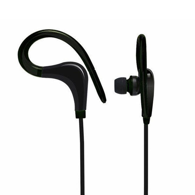 Wireless Bluetooth Earphones Headphones Sweatproof For Sports Gym Stereo Music Universal For Mobile Phone Wire Control