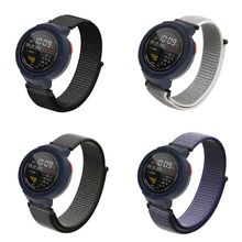 Watch Band Bracelet Belt Wrist Strap Loop Nylon Watchband Replacement for Huami Amazfit Verge 3