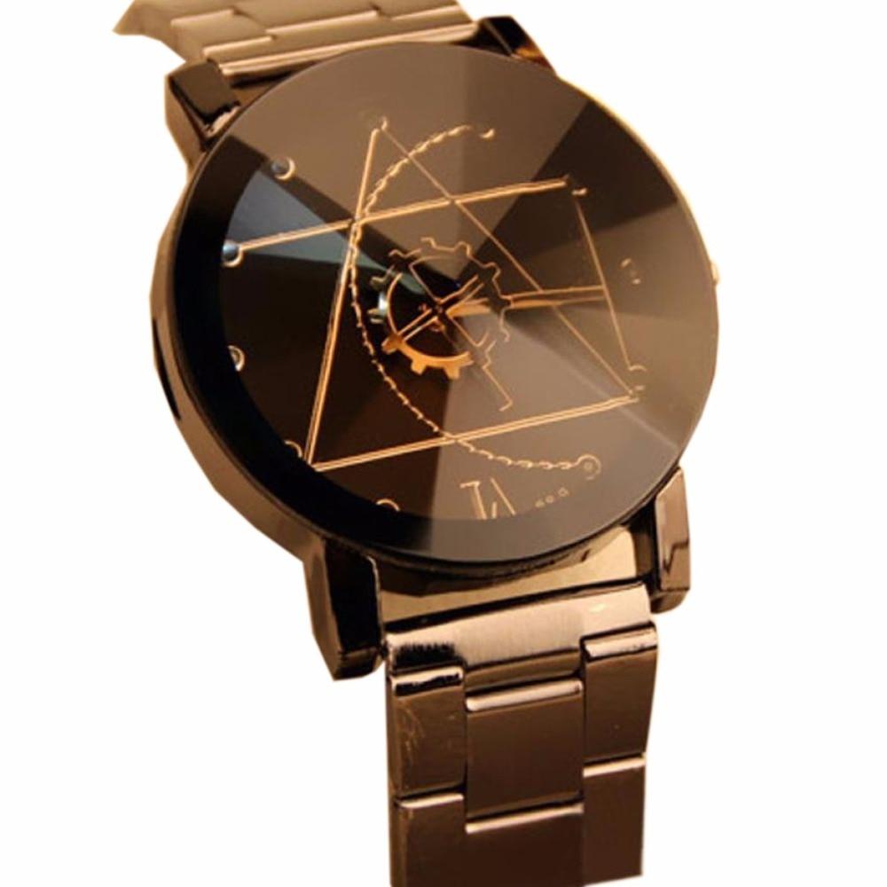 Gofuly 2019 Nieuwe Luxe Horloge Fashion Rvs Horloge Voor Man Quartz Analoog Horloge Orologio Uomo Hot Sales 1