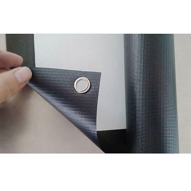 Thinyou 72 inč 16: 9 Matte White Fabric vlakno Staklo Jednostavni - Kućni audio i video - Foto 5