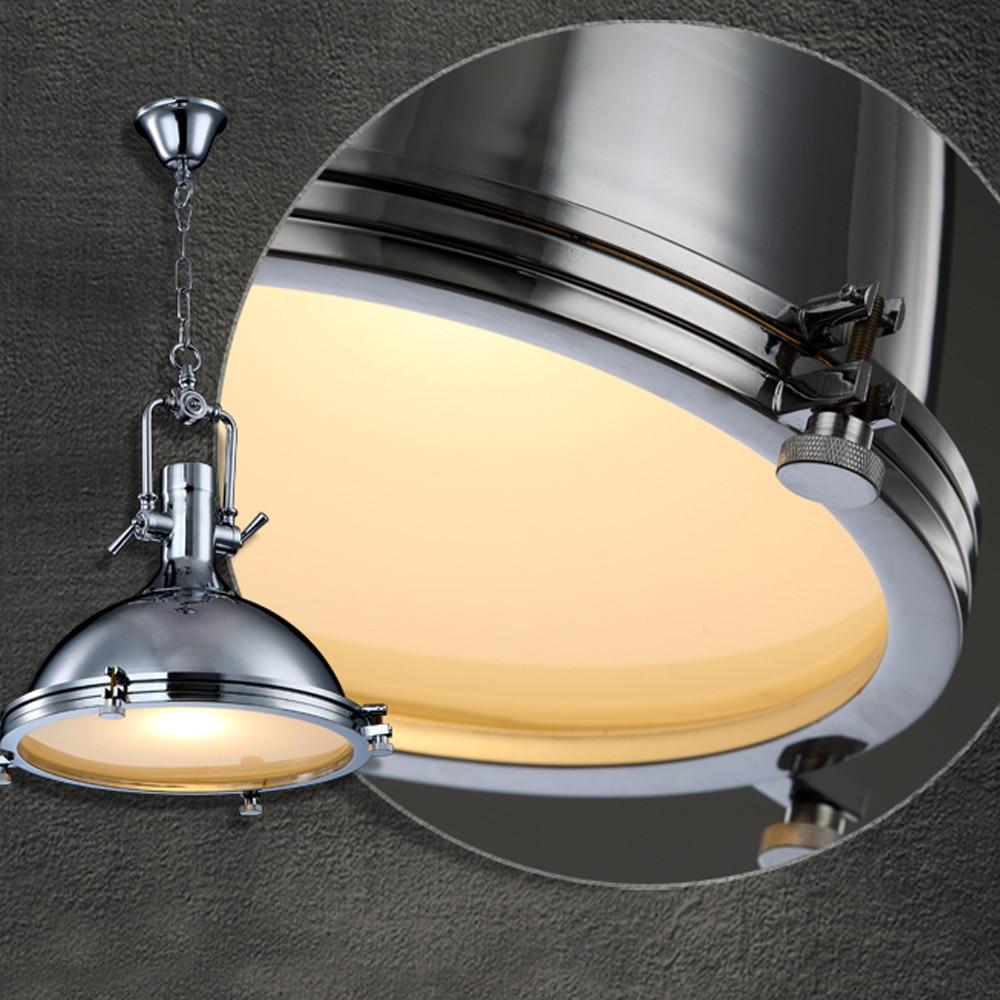 Metall Industrielle Vincent Chrom Land Anhanger Lampen Rustikalen