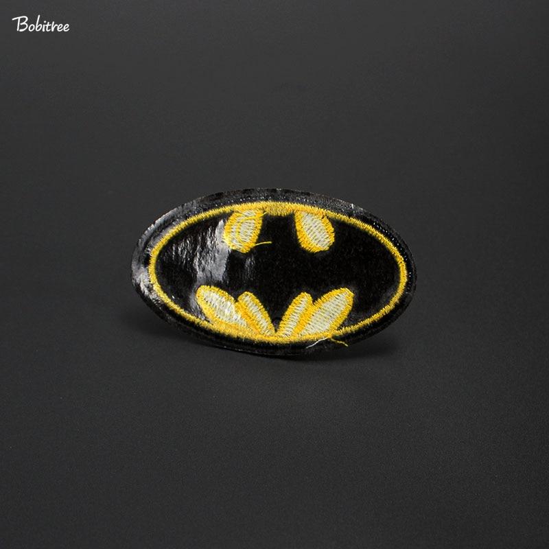 Premium Quality DIY Batman Embroidered Patch Applique Badge Iron on Sew
