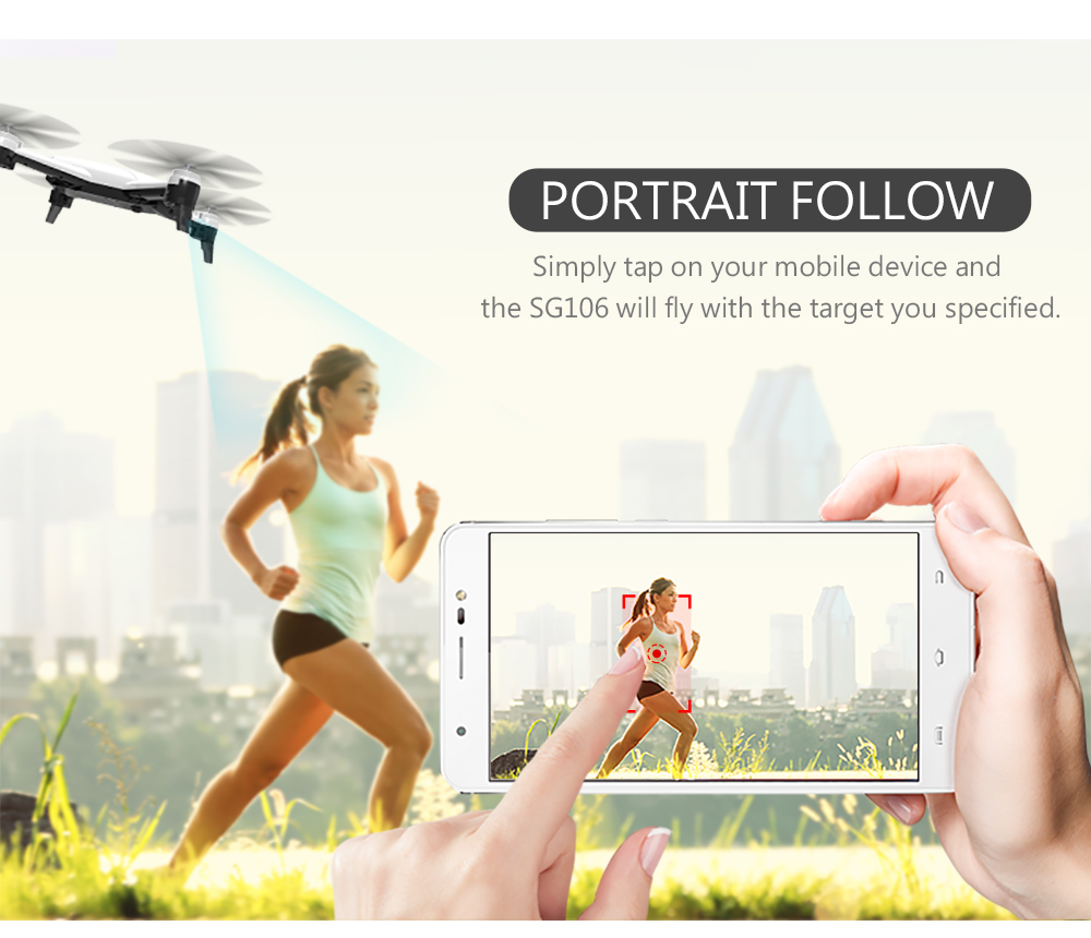 SG106 4K 1080P/720P Drone with Dual Camera and Wide Angle Optical Flow for Real-Time Aerial Video 22