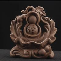 Ceramic Gourd Buddhism Incense Burner wierook waterval Lotus Smoke Waterfall Incense Holder Temple Home Decor Porcelain Censer