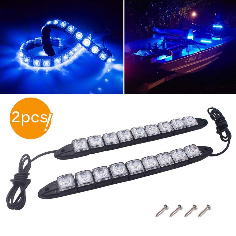 2 Paquetes Luces de Cubierta LED para Barcos Luz de Trabajo de Cortes/ía Impermeable IP67 Catamar/án de Yate Konesky Luces de Navegaci/ón LED