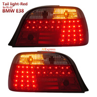 Red Color for BMW 7 Series E38 728 730 735 740 750 LED Tail light fit 1995 2002 year Car models SONAR brand Top Quality