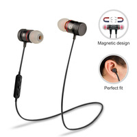 Wireless Bluetooth 4 0 Sport Stereo Headset Noise Isolation Earbuds Super Bass Headphones With Micphone