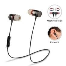 Supology Aimant Sport In-Ear Bluetooth Écouteur Écouteur Mains Libres Stéréo Casque Sans Fil Écouteurs avec Micro pour Iphone 7