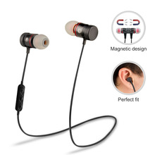Supology Magnet Sport In-Ear Bluetooth Earphone Earpiece Handsfree Stereo Headset Wireless Earphones with Mic for Iphone 7(China)