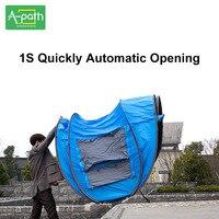 Открытый туристическая палатка Кемпинг Автоматическая палатка 4 человек пляж газеб тент складной шатер сетки от комаров зимние палатки Кит