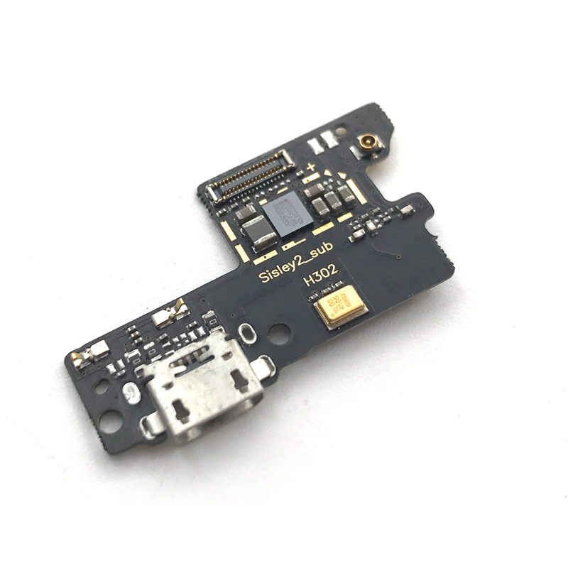 New Dock Charge Connector For Lenovo Vibe S1 S1c50 S1a40 USB Port Charging Board With Mic Microphone Flex Ribbon Cable