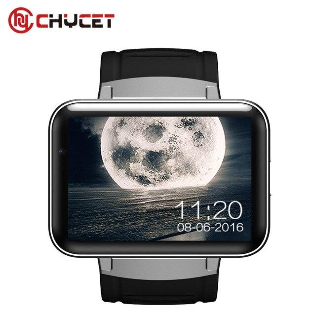 DM98 Смарт-часы Android 5.1 MTK6572 1.2 ГГц 2.2 дюймов HD 900 мАч аккумуляторной батареи 512 МБ оперативной памяти 4 ГБ ROM android 3 г WCDMA GPS Wi-Fi SmartWatch