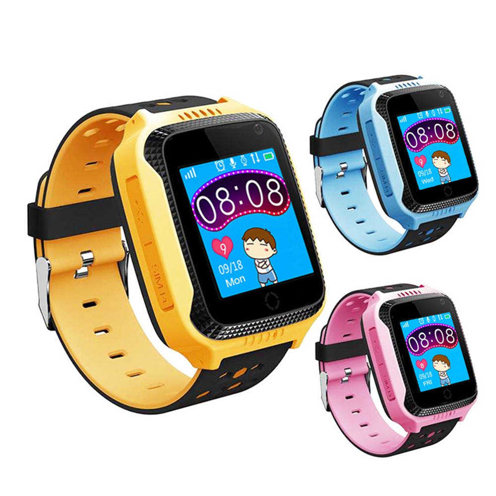 Kids Watch GPS Tracker Smart Watch Camera SOS Location Position Flashlight Remote Monitor Smart Clock Touch Screen Q529 Y21