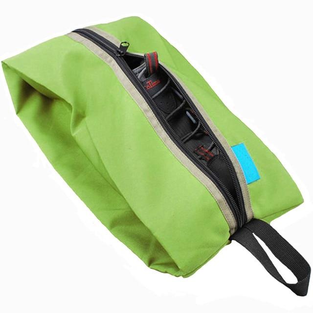 Portable Waterproof Travel Shoe Bag Nylon Foldable Storage Organizer 2