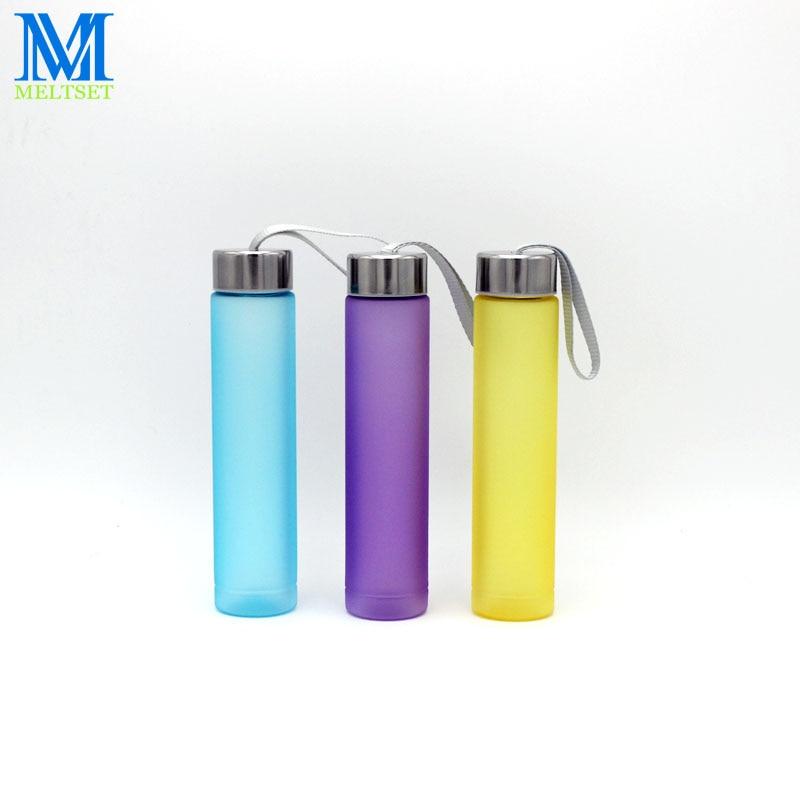 El Color Del Caramelo creativo Botella de Agua 280 ML de Las Mujeres Lindo Mini
