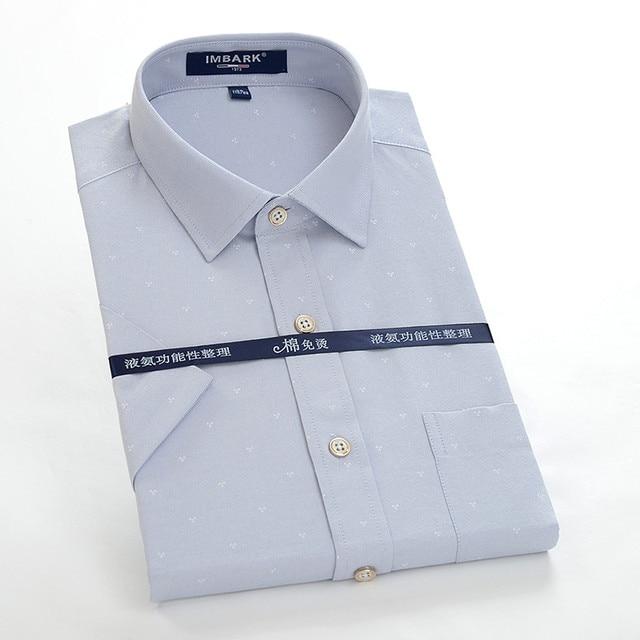d4f42cd10f0 Short sleeve shirts Oxford factory outlet new fashion men summer super  large high qualtiy plus size M-7XL8XL10XL12XL14XL 76001