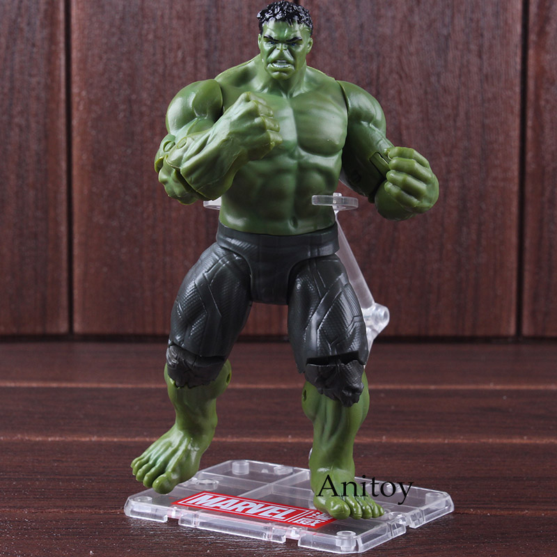 Avengers Infinity War Action Figure Hulk Toy PVC Marvel Hulk Action Figure Collectible Model Toy 17cmAvengers Infinity War Action Figure Hulk Toy PVC Marvel Hulk Action Figure Collectible Model Toy 17cm