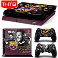 Lionel Messi PS4 Sticker skin For Sony Playstaion 4 Game console controller Skin Sticker PS 4 accessories
