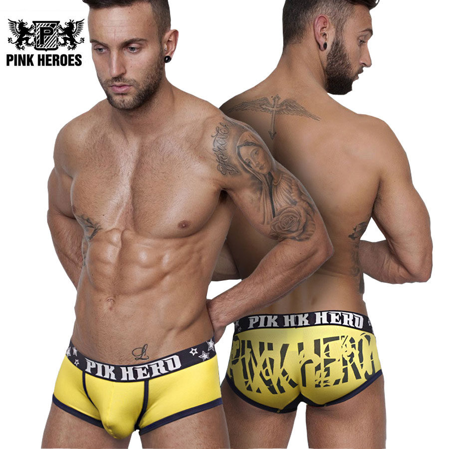 Men Sexy Cotton Boxers Fashion Solid Male Underwear Low Waist Printed Slim Mans Hot Panties Short Flat Underpants Sleepwear ...