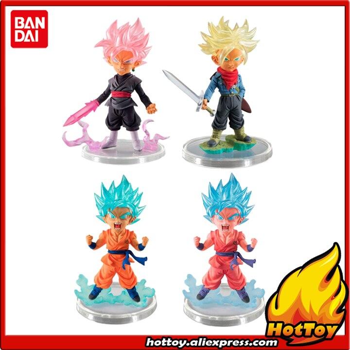Original BANDAI Ultimate Grade / UG 7 Gashapon PVC Toy Figure - Full Set of 4 Pieces Gokou Trunks Goku-Black