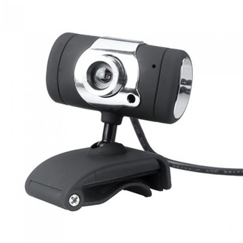 HD Webcam Camera USB 2.0 50.0M Web Cam With CD Driver Microphone MIC For Computer PC Laptop A847 Black Drop Shipping