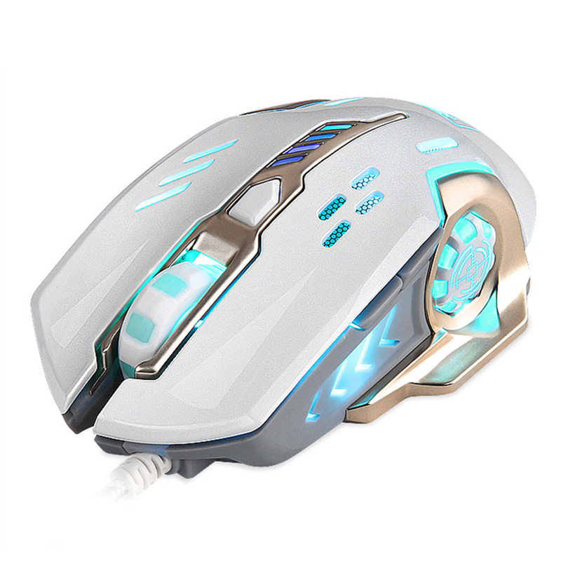 Mice Devoted New Wired Mouse Usb Professional Adjustable 4000dpi 9d Colorful Led Light Optical Gaming Mouse Mice For Pc Notebook Office Lol Computer & Office