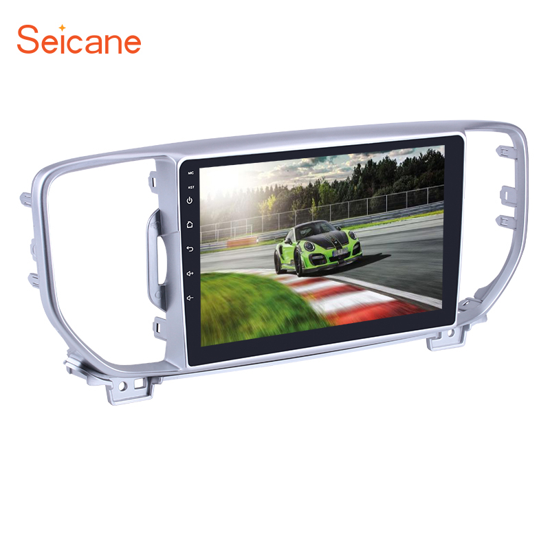 "Seicane 2Din Android 7.1/8.1 9"" Car Radio For 2016 2017 2018 KIA KX5 Sportage Stereo Audio GPS Navigation Multimedia Player"