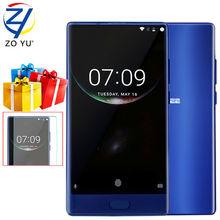 DOOGEE Smartphone 4G LTE Android 7.0 Helio de LA MEZCLA P25 Móvil Octa Core 5.5 HD 16.0MP 6G + 64G Huella Digital 3380 mAh Teléfono Celular