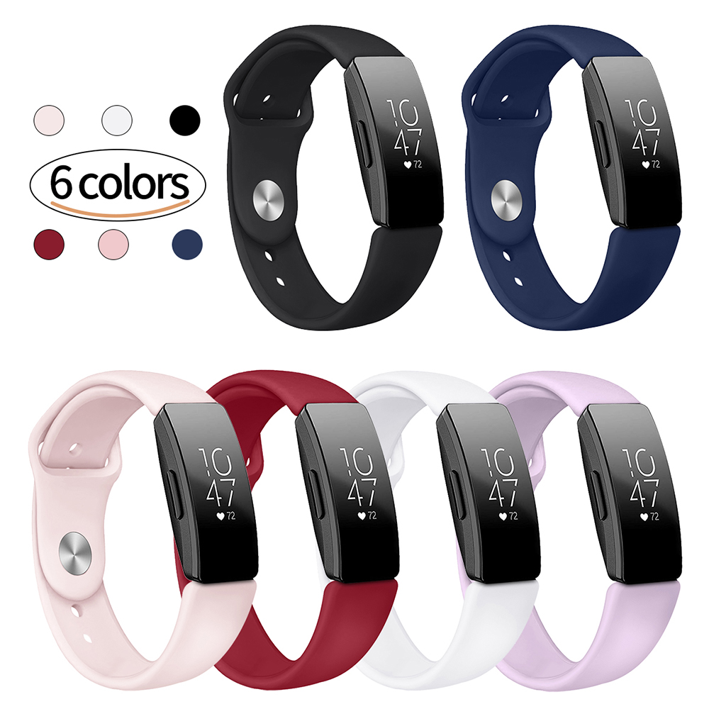 For Fitbit Inspire HR Wrist Strap Band Sport Silicone Bracelet Correa Pulseira Inspire Watch Band Smart Watch Accessories