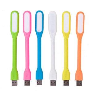 Image 3 - FFFAS 유연한 USB Led 테이블 독서 램프 USB 가제트 밤 빛 샤오미 전원 은행 노트북 Powerbank 노트북 PC