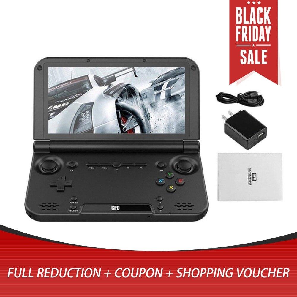 Портативный размер GPD XD плюс 5 дюймов игровой плеер геймпад 4 ГБ/32 ГБ MTK8176 2,1 ГГц Ручной игровой консоли