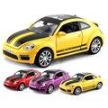 Edición limitada de volkswagen escarabajo modelo 1:32 diecast cars autos tres colores acústico-óptica de aleación de metal de juguete mejor regalo para niños