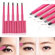 Eyebrow Pencil Waterproof Eye Makeup Cosmetic Pen With Brush Classic Eyebrow Tools Eyebrow Pencil Eye Brow Liner Professional все цены