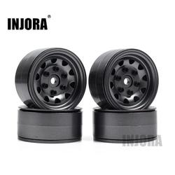 4PCS Metal Beadlock 1.9 Wheel Rim for 1/10 RC Rock Crawler Traxxas TRX-4 TRX4 D90 D110 TF2 Axial SCX10 90046