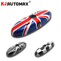 Car Styling For Mini Cooper One S Interior Rearview Mirror Cover Cap Shell R50 R52 R53 R55 R56 R57 R60 (2004 2013)Accessories