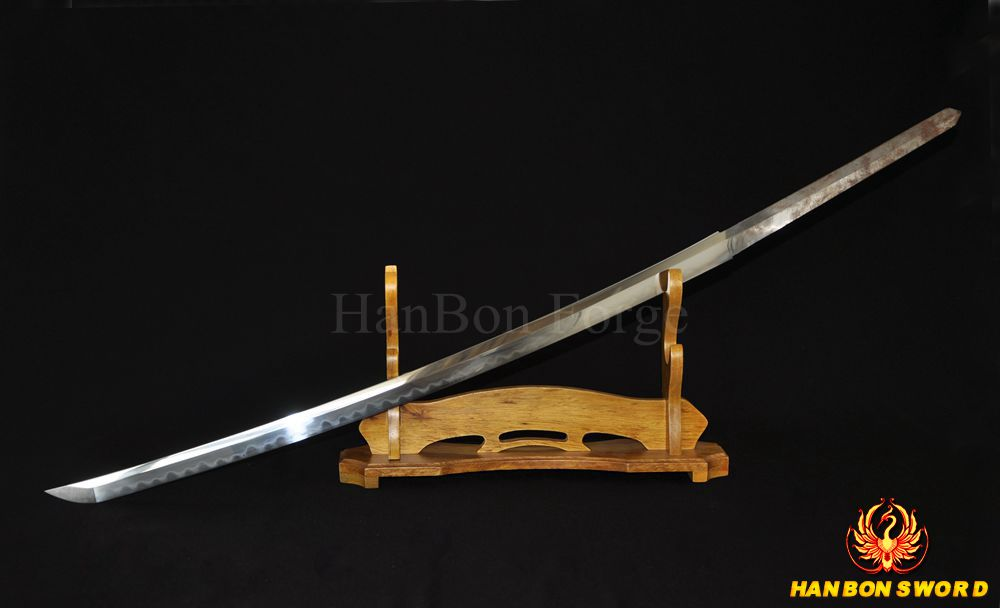 HANDMADE JAPANESE SAMURAI SWORD KATANA CLAY TEMPERED FULL TANG BLADE VERY SHARP