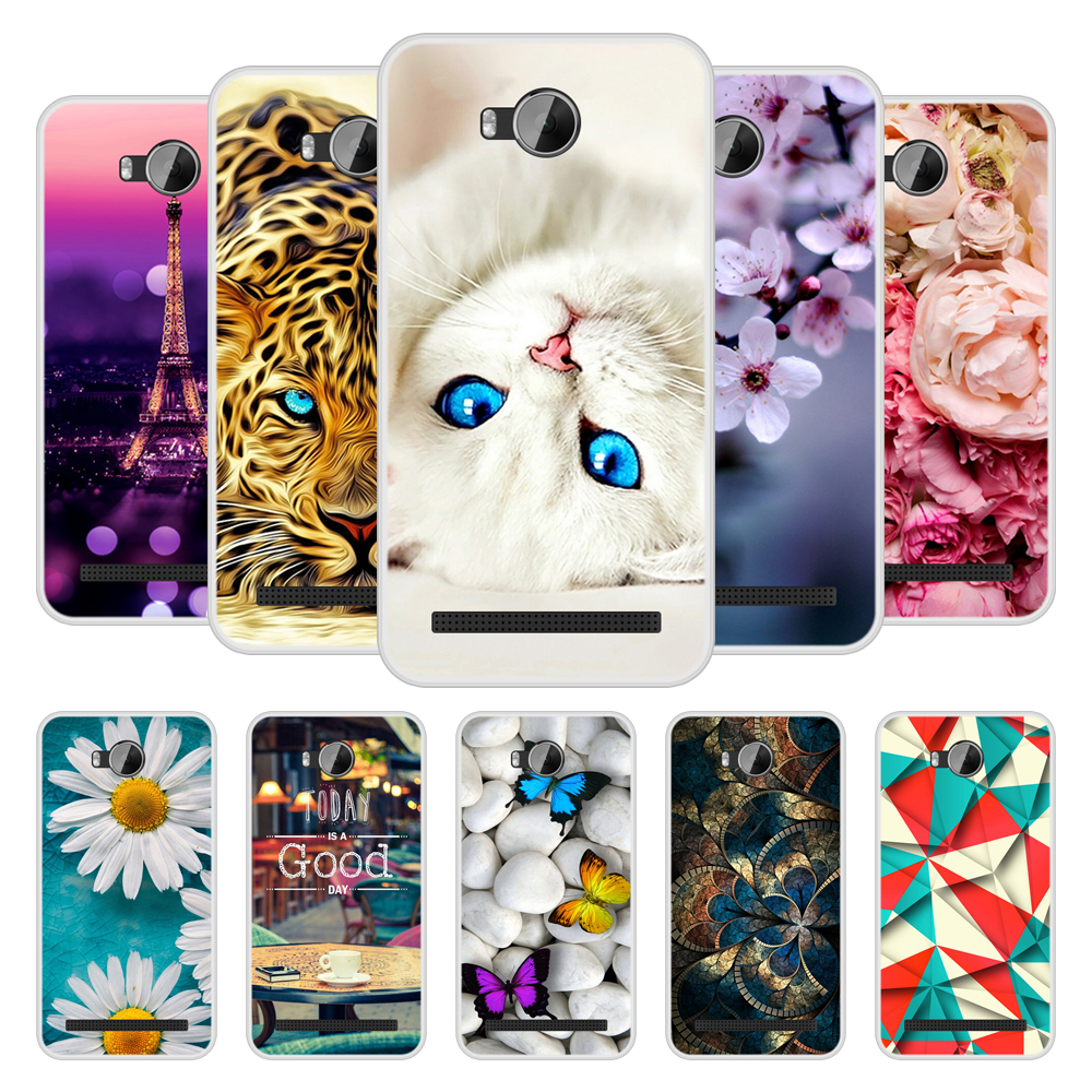 Phone Case for Huawei Y3II Y 3 II Soft Silicone TPU Cool Patterned Paint for Huawei Y3 II 2 LUA L21 Case